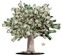 Properly understood, A monetarily sovereign government is like a Money Tree.